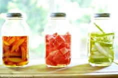 Fruit Infused Liquor for Summer Cocktails - At The Picket Fence