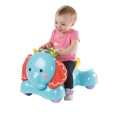 Fisher-Price 3-in-1 Stride & Ride Elephant