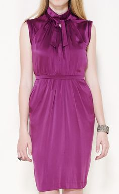 Valentino Violet Dress