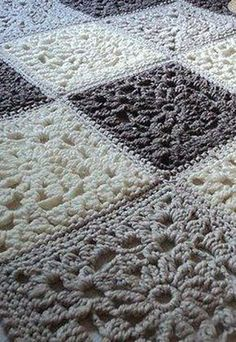 28 Ideas crochet granny square blanket pattern fun for 2019 Crochet Afghans, Marque-pages Au Crochet, Point Granny Au Crochet, Chat Crochet, Crochet Square Blanket, Crochet Squares Afghan, Manta Crochet, Crochet Blanket Patterns, Baby Blanket Crochet
