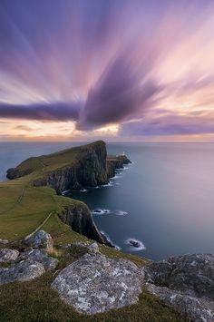 Ereigniskarte: Gehen Sie direkt dorthin! Wenn Sie über Los kommen, ziehen Sie 2000 Euro ein...:-)  (Neist Point, Isle of Skye, Scotland)