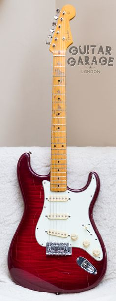 1994 Fender Japan Foto Flame 54 Vintage Reissue Stratocaster