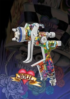 Sata heart and soul ed. Spray gun