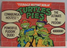 TMNT Turtles Pies