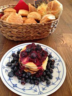 #tortitas #pancakes #arándanos #desyuno #merienda #postre #receta #blog