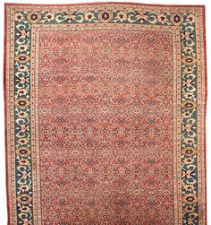 Zieglar Mahal carpet  Central Persia,  late 19th century  size approximately 12ft. 2in. x 18ft.