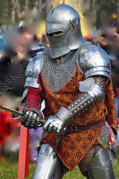 Layered look armor