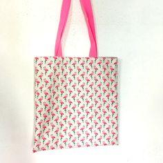 tuto couture tote bag flamants roses atelier de la creation