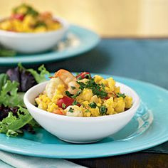 Seafood Risotto Risotto Recipes Cooking Light, Easy and Delicious Shrimp Risotto Recipe Utah Stories, Shrimp and Asparagus Saffron Risott. Seafood Risotto, Seafood Dinner, Dinner Menu, Fish Recipes, Seafood Recipes, Dinner Recipes, Asda Recipes, Gf Recipes, Indian Recipes