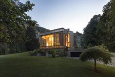 #homify #Romantisch #Licht #Nacht #Abend #Architektur #Holz #Design #Garten