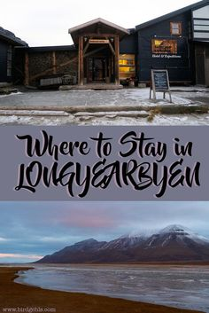 Heading to Longyearbyen, Svalbard and looking for somewhere cosy to stay? Here are a few options for accommodation in this Norwegian archipelago.