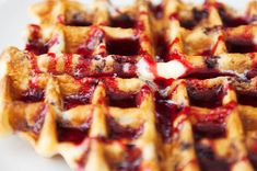 huckleberry waffles recipe | use real butter