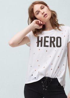 T-shirt algodão | MANGO