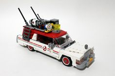 LEGO Ghostbusters Ecto-1 & 2 (75828) http://www.flickr.com/photos/tormentalous/28087744856/
