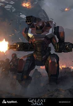 Galaxy Saga (applibot) Galactic empire soldier adv by djahal.deviantart.com on @deviantART