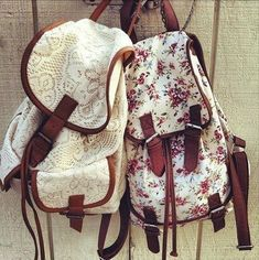 Bag: floral backpack girly underwear lace backpack love cute hippie vintage floral crochet white Yes. Lace Backpack, Floral Backpack, Backpack Bags, Puppy Backpack, White Backpack, Crochet Backpack, Backpack For Teens, Hiking Backpack, Messenger Bags
