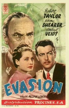 Evasión (1940) tt0032447 PP