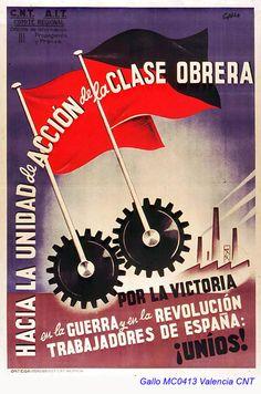Spain - 1936-39. - GC - poster - Luis García Gallo