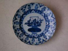 blauw bord chinees porselein