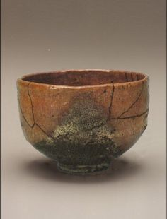 Choujiro, Red Raku Chawan: Prompt Ship, Hatakeyama Memorial Museum 赤楽茶碗 銘 早船 畠山記念館蔵