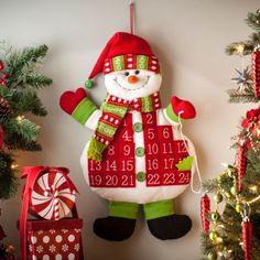 Snowman Advent Calendar | Kirkland's