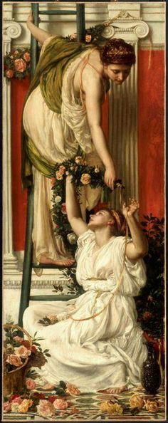 Sir Edward John Poynter (Victorian Classicist painter) 'The Festival' 1875