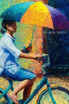 iris scott | NUBA finger painting I love it!