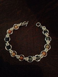 Chainmaille with beads