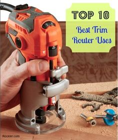 .  Check website with best way to #learn #woodworking here: http://ewoodworking.ninja . The Trim Routers Top Ten Best and Most Versatile Workshop Uses. http://Rockler.com Woodworking tools
