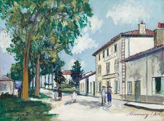 Expertises et ventes aux enchères Maurice Utrillo - Aguttes