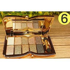Glisten Diamond Shimmer Matte Eyeshadow Palette Makeup Cosmetic Kit 10 Colors for Women >>> Learn more by visiting the image link.