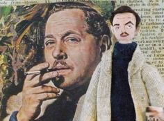 Author Doll Tennessee Williams Art Miniature by UneekDollDesigns, $38.00