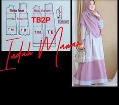 Abaya Fashion, Muslim Fashion, Dress Muslim Modern, Kebaya, Social Platform, Pattern Making, Sewing Hacks, Dress Patterns, Coat