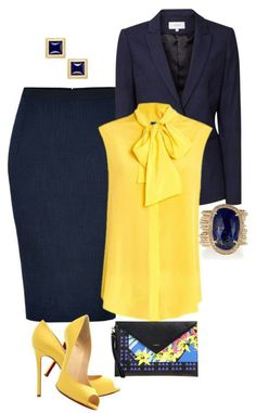 Fashion Tips Design Love the neck bow on the shirt Stylish Work Outfits, Business Casual Outfits, Professional Outfits, Office Outfits, Classy Outfits, Stylish Outfits, Fashion Mode, Office Fashion, Work Fashion