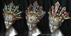 Headdress inspired by Queen of the Damned Organic Armor