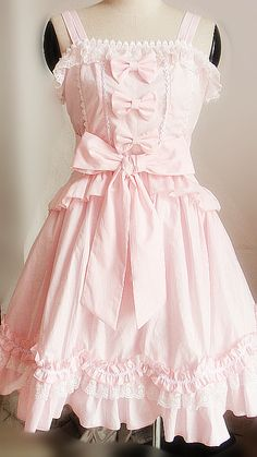 Sweet Lolita Princess Skirt. I want this in light green!