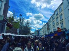 #portobello Market Road today  #London #reiseinspiration Hier ist was los!