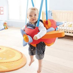 Airplane swing.......so cute