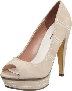 Amazon.com: Michael Antonio Womens Kamea Open-Toe Pump: Michael Antonio: Shoes