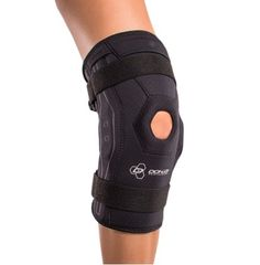 Donjoy Performance Bionic Knee Brace - Provides superb protection and support for mild to moderate ligament or tendon sprains, hyperextention, meniscus injuries, patella support / stability. Made of  breathable perforated neoprene.