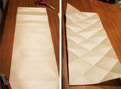 DIY papier : un abat-jour en forme de fleur