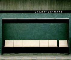 station de métro Champ-de-Mars, Paris, France,  transports urbains