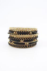 #Vtg 70s Womens #Skinny Gold Cuff Bangle #Bracelet Set #Gypsy Hippie# Boho Chic