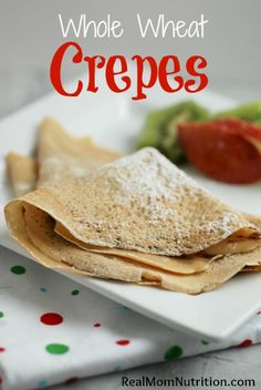 Looking for a special breakfast this holiday season? Crepes feel fancy but are actually easy to make--and once you've made a stack,everyone can fill theirs with what they like, sweet or savory.  For this recipe, I used white whole wheat flourinstead of all-purpose flour. Made from white ...