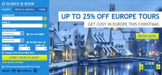 Offer banner with search from STA Travel #Web #Banner #Digital #Online #Marketing #Travel #Holiday #Offer #Search