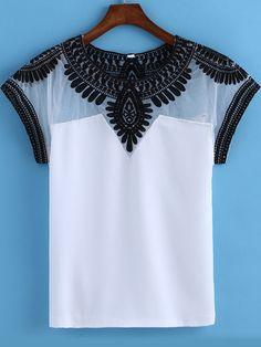 Moncler Camisetas Con Y Sin Mangas blancas