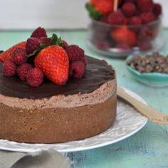 Descubre la receta de tarta de queso y chocolate de Lorraine Pascale, receta muy fácil con pasos sencillos. Descubre la cocina fácil de Lorraine Pascale