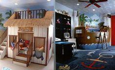Сказочные и фэнтези идеи для оформления детских комнат