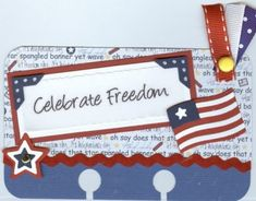These are altered rolodex cards. 4th Of July Photos, Fourth Of July, Altered Books Pages, Glue Book, 3d Craft, Rolodex, Atc Cards, Heidi Swapp, Index Cards