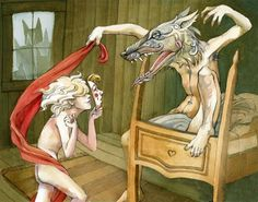 Angela Carter began my obsession with Little Red Riding Hood. Celine, Pop Art, Meghan Ory, William Wegman, Julie Christie, Big Bad Wolf, Cultura Pop, Cthulhu, Red Riding Hood